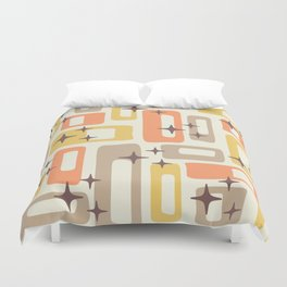 Mid Century Modern Geometric Abstract 133 Duvet Cover