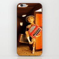 hunter s thompson iPhone & iPod Skins featuring Hunter S. Thompson by SwampFox Studio