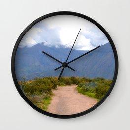 Le chemin Wall Clock