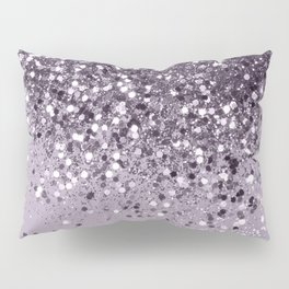 Sparkling Lavender Lady Glitter #2 #shiny #decor #art #society6 Pillow Sham