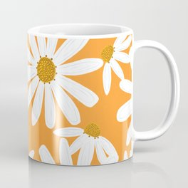 Daisy Pattern Coffee Mug