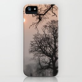 Morning Silhouette iPhone Case