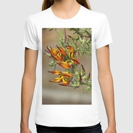 Lotus flower in bloom in the garden T-shirt