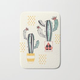 Cactus in a Pot Bath Mat