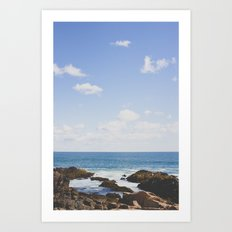 Sky over Maine Art Print