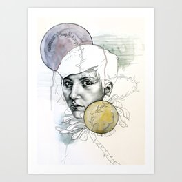 Echeveria Art Print