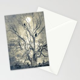 Raven's shelter II  (colour option) Stationery Cards