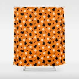 Volley Crows! Shower Curtain