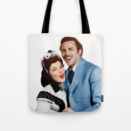 Kathryn Grayson and Howard Keel Tote Bag