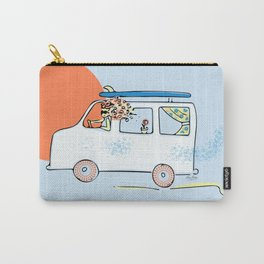 Happy Little Surf Van Carry-All Pouch