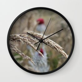 Grasses Wall Clock