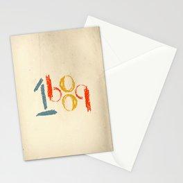 1689 (retro) Stationery Cards