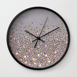 Coral Splash Wall Clock