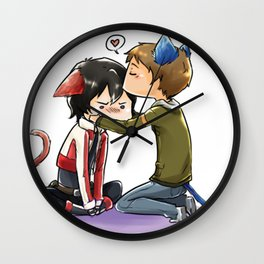Klance - Voltron Legendary Defender fanart Wall Clock
