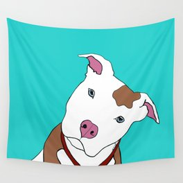 Pit bull Wall Tapestry
