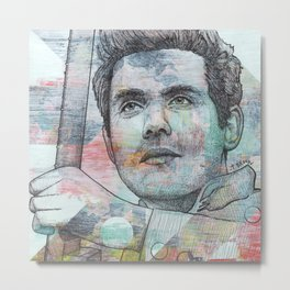 John Mayer - A Face To Call Home Metal Print
