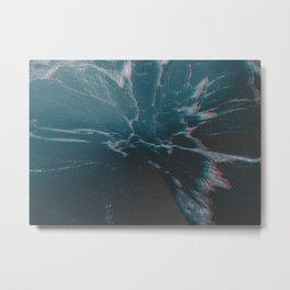 marbled ice Metal Print