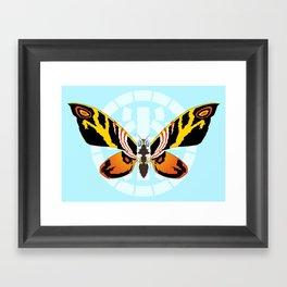 Mothra Framed Art Print