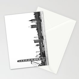 London skyline Stationery Cards