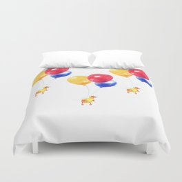 Duckling can Fly Duvet Cover
