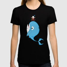 Cute Jonah and the Whale T-shirt