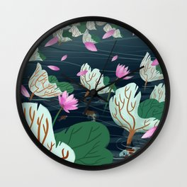 A Sudden Breeze Wall Clock