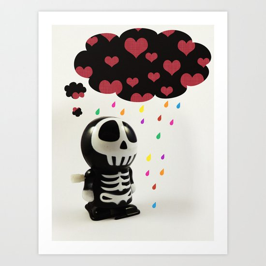 Automatons Have Feelings Too Art Print