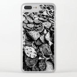 sunken succelents Clear iPhone Case