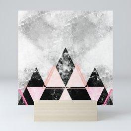 Geometric Mountain Mini Art Print