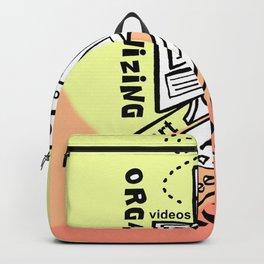 Organizing - Zine Page Backpack