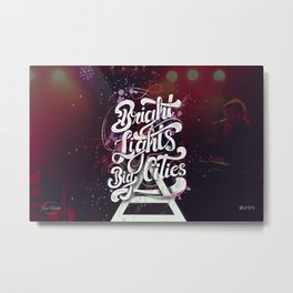 Bright Lights | 30 Seconds To Mars Metal Print