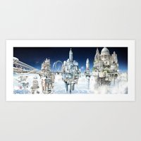 The Towers of London Art Print