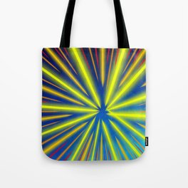 Radiant Flow3 Tote Bag