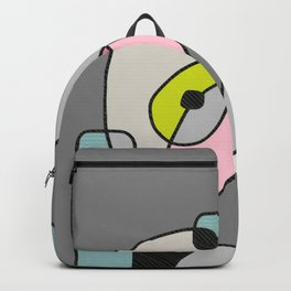 Abstract Painting of a Dog (1) - Modern Artwork Backpack