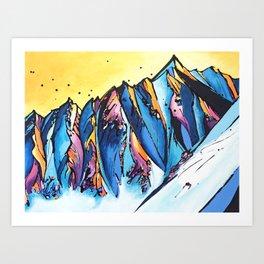 The Chugach Art Print