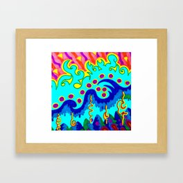 Yesterday's Weirdness is Tomorrow's Reason Why Framed Art Print