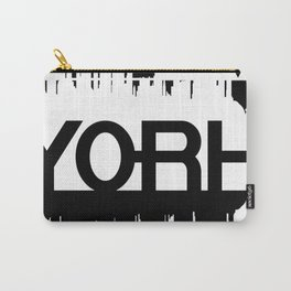 New York Graphic Carry-All Pouch