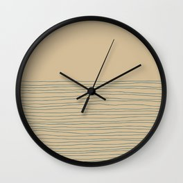Hand Striped and Sea Wall Clock