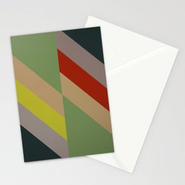 Modernist Geometric Graphic Art Stationery Cards