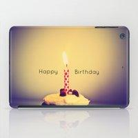 happy birthday iPad Cases featuring Happy Birthday by Jo Bekah Photography