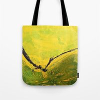 flight Tote Bags featuring Flight by RvHART