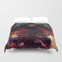 scary Duvet Covers featuring Scary by WDeluxe