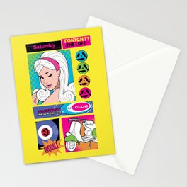 The Loft Subway Soul by Dawn Carrington Stationery Cards