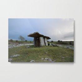Pulnabrone Dolmen, Ireland Metal Print