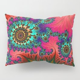 Eastern Love Fractal Art Pillow Sham