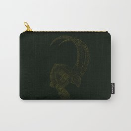 I am Loki, of Asgard Carry-All Pouch