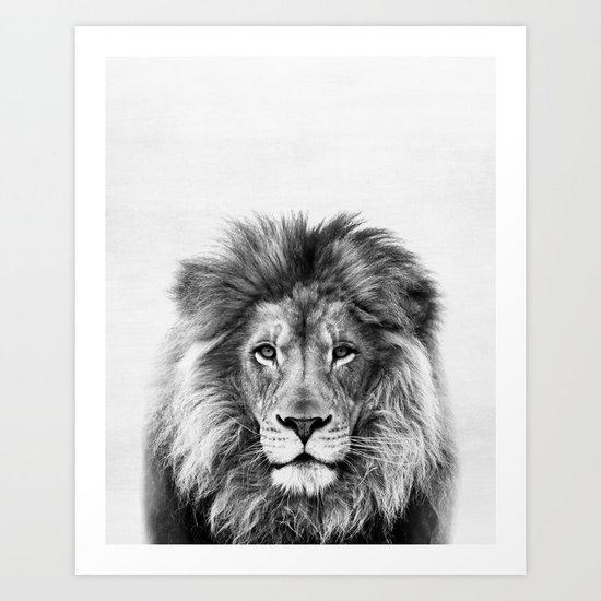 Lion, Animal, Minimal, Trendy decor, Nursery, Interior, Wall art, Photo by scandihome