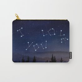 I love You Stars Design Carry-All Pouch
