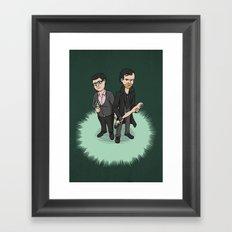 Mint Cornetto? Framed Art Print