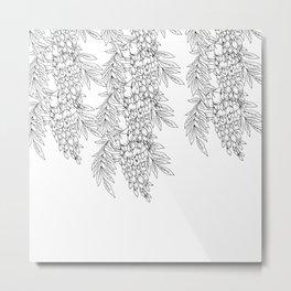 wisteria Metal Print